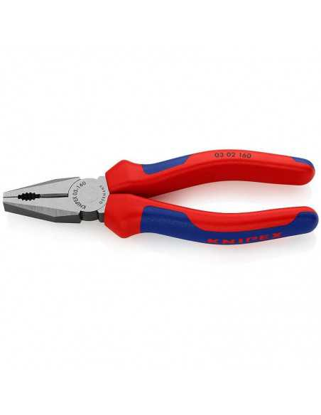 Kombinuotos replės KNIPEX 0302 180 mm