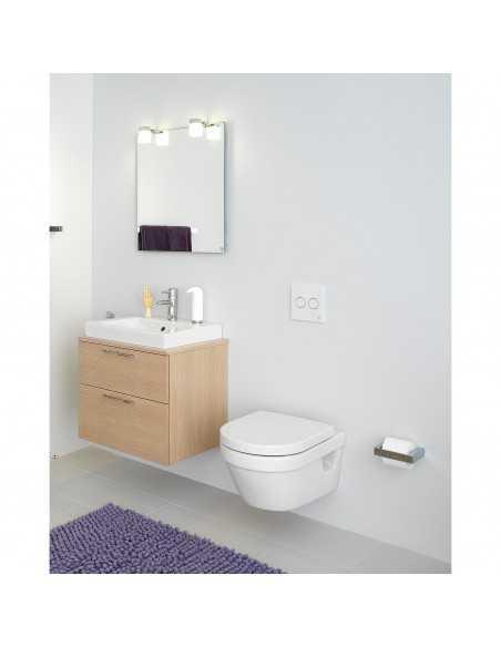 Unitazas Hygienic Flush rimless, soft close dangtis, Gustavsberg