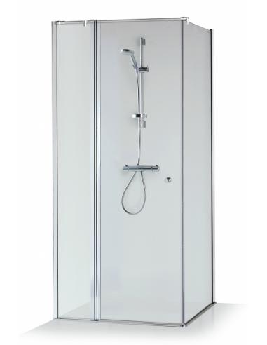 Dušo kabina Karina 80, 90, 100 cm, BRASTA GALSS