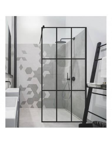 Dušo sienelė Nero Cube Ema 80, 100 cm, Baltijos Brasta