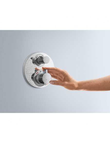 Maišytuvas dušo/vonios termostatinis 2 funkcijų Ecostat S, Hansgrohe