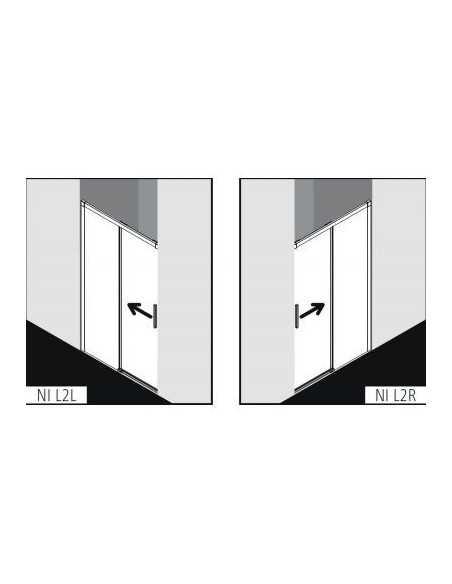 Dušo durys Kermi NICA , Kermi